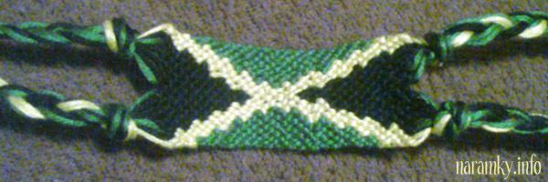 9b464e172 Náramky přátelství – Jamajská vlajka – Friendship Bracelets – Flag ...